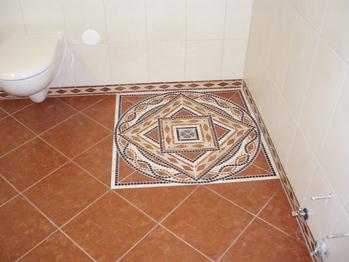 Maria haag mosaikart mosaikkunst ihr mosaik marmor for Mosaik dusche